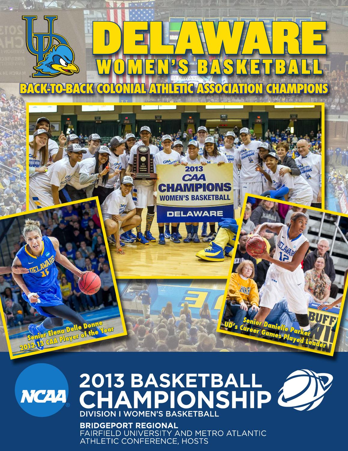 2013 Women s Basketball Sweet 16 Guide by UDBlueHens Delaware - issuu da1a094603b3