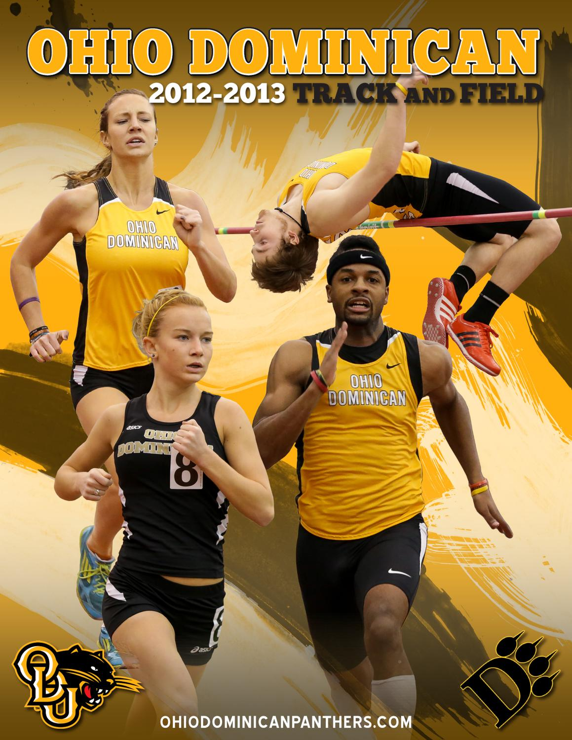 2013 Ohio Dominican Track & Field and Cross Country
