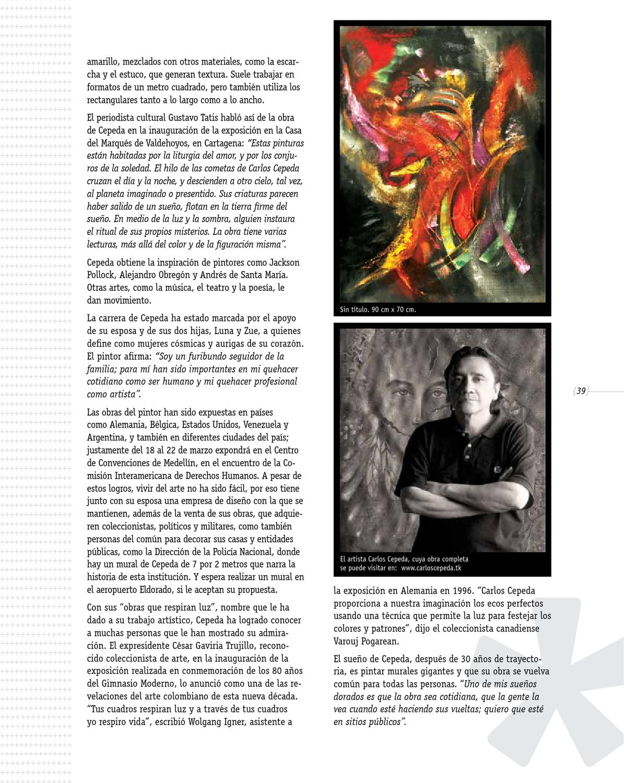 Directo Bogotá # 40 by Revista Directo Bogotá - issuu