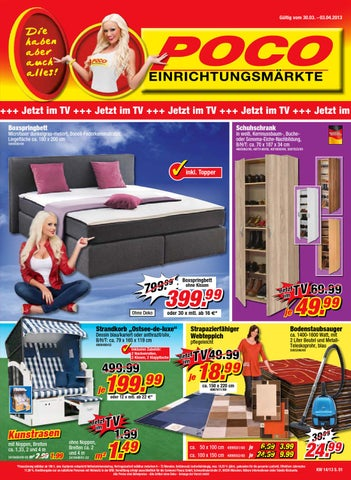 poco prospekt 30 m rz 3 april 2013 by issuu. Black Bedroom Furniture Sets. Home Design Ideas
