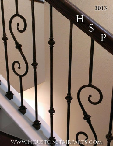 Wrought Iron Balusters Houston Stair Parts Catalog 2013. By Edson ...