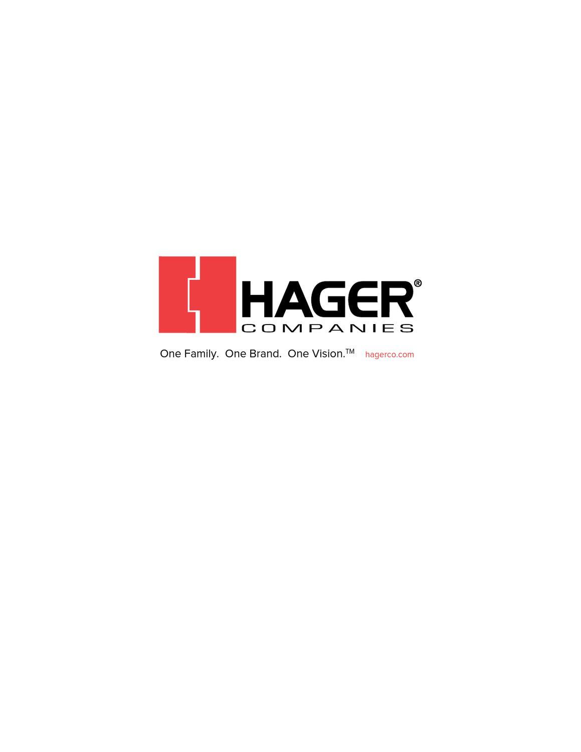 hager condensed catalog by horner millwork issuu. Black Bedroom Furniture Sets. Home Design Ideas