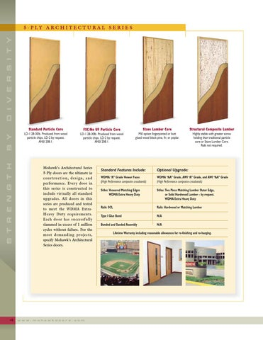 Page 6  sc 1 st  Issuu & Mohawk Doors by Horner Millwork - issuu