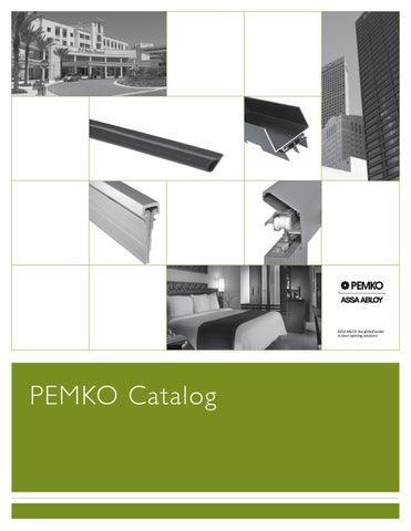 pemko full line catalog by horner millwork issuu. Black Bedroom Furniture Sets. Home Design Ideas