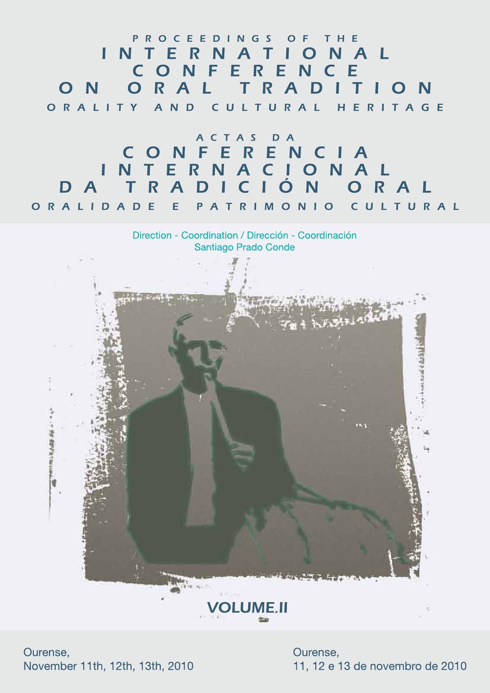 Actas da conferencia internacional de tradicin oral ourense 2010 v actas da conferencia internacional de tradicin oral ourense 2010 v2 by castor castro issuu fandeluxe Gallery