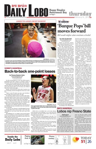 NM Daily Lobo 021413 by UNM Student Publications - issuu