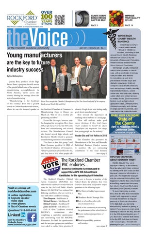 April Voice 2013 By Rockford Chamber Of Commerce Issuu