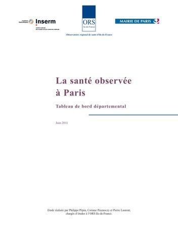 ORS Tableau  de bord Paris 2011 by guery florence - issuu ce7529f95e99