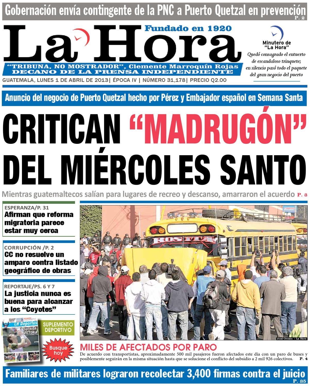 Diario La Hora 01-04-2013 by La Hora - issuu