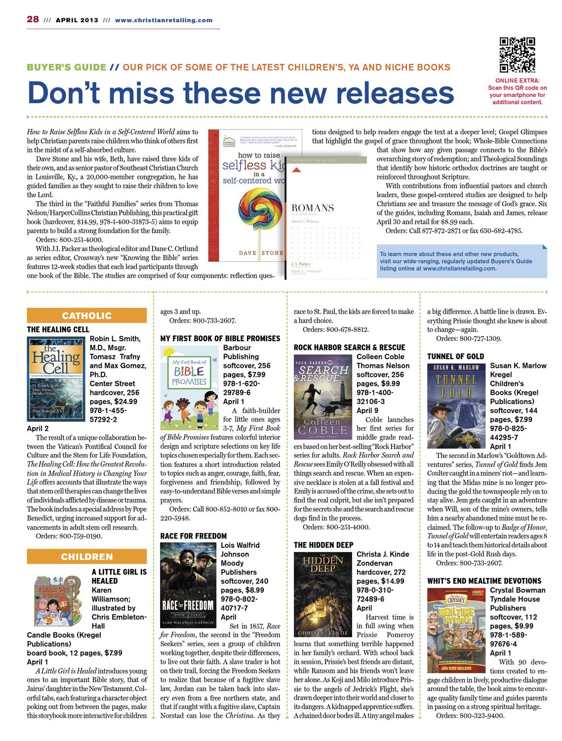 Christian Retailing April 2013 by Charisma Media - issuu