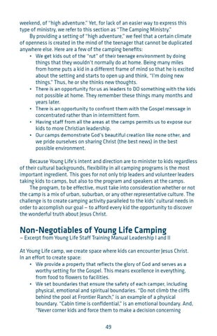 Young Life Leader Training by Young Life - issuu