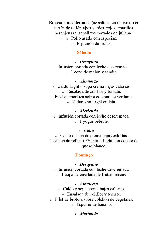 Dieta de la jalea light