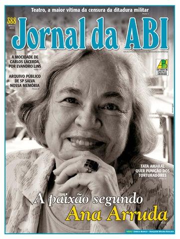 Jornal da ABI 388 by Francisco Ucha - issuu 18a558202b