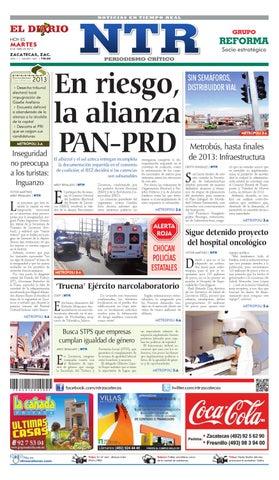 8541b01d8a El Diario NTR by NTR Medios de Comunicación - issuu