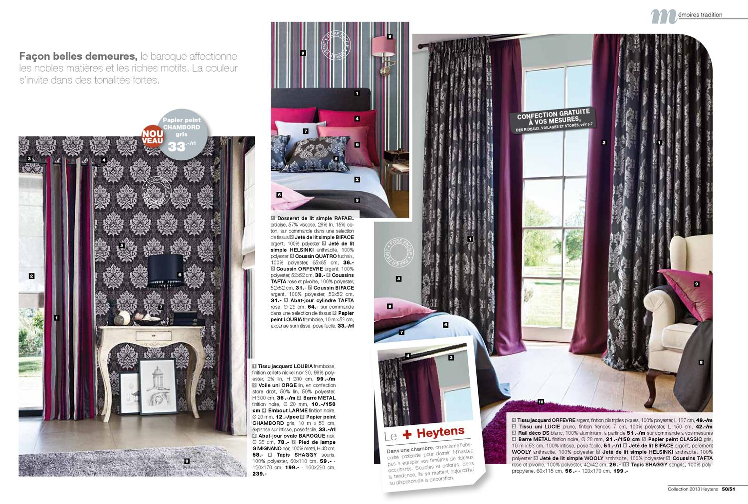 Heytens Coussins : Heytens collection ch by mehdi tekaya issuu