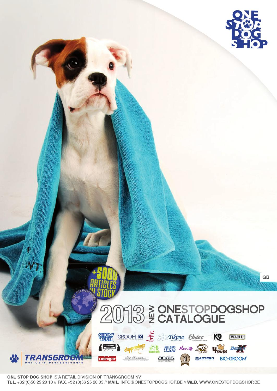 One Stop Dog Shop Catalog 2013 (English version) by Transgroom - issuu