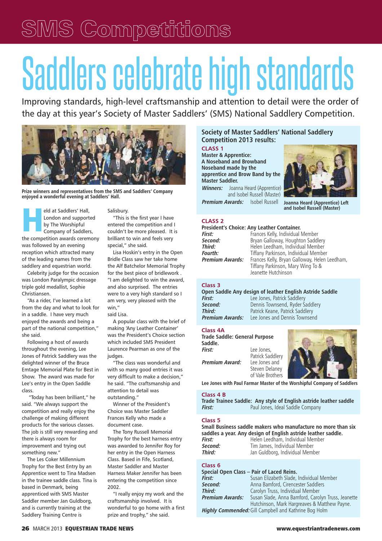 ETN - Equestrian Trade News - March2013 by ETN (Equestrian