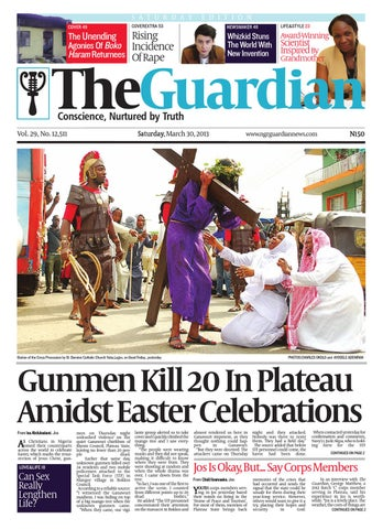 Sat 30 Mar 2013 The Guardian Nigeria by The Guardian