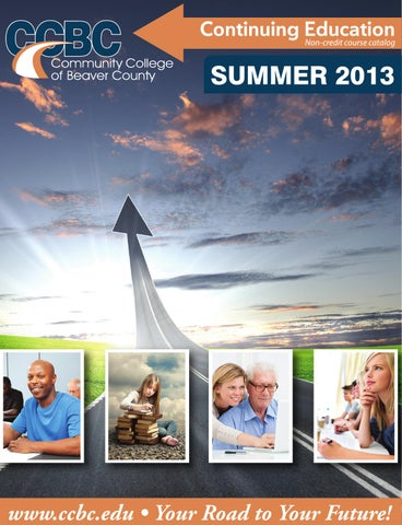 Community College of Beaver County Summer Non-Credit Course