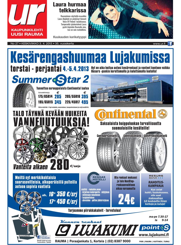 Uusi Rauma 3 4 2013 by Marva Group - issuu