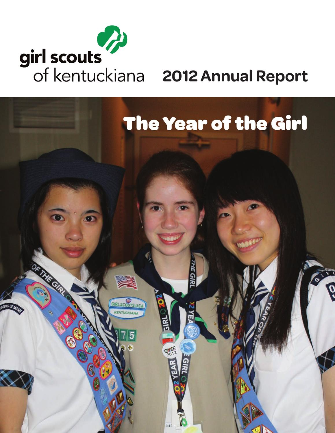 2012 Annual Report - The Year Of The Girl By Girl Scouts -1796