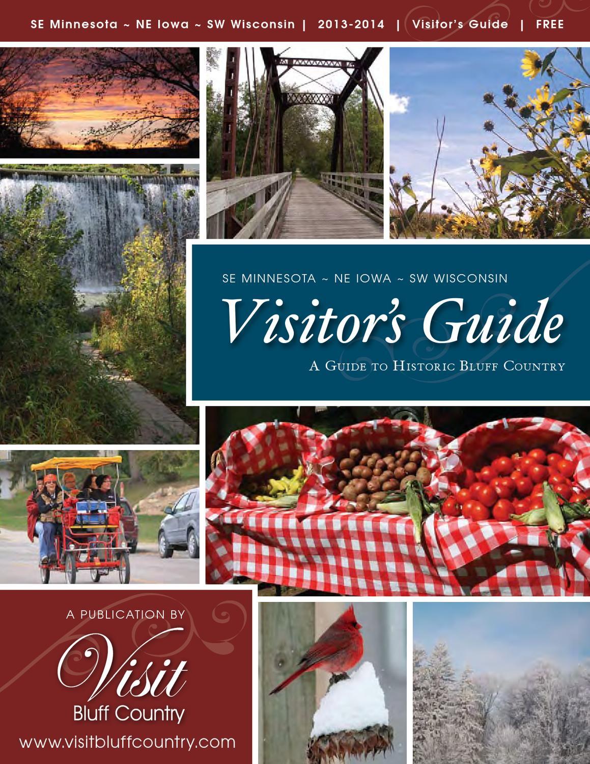Visitors Guide 2013 By Visit Bluff Country Issuu Diamond Plain Fresh Milk 949 Ml