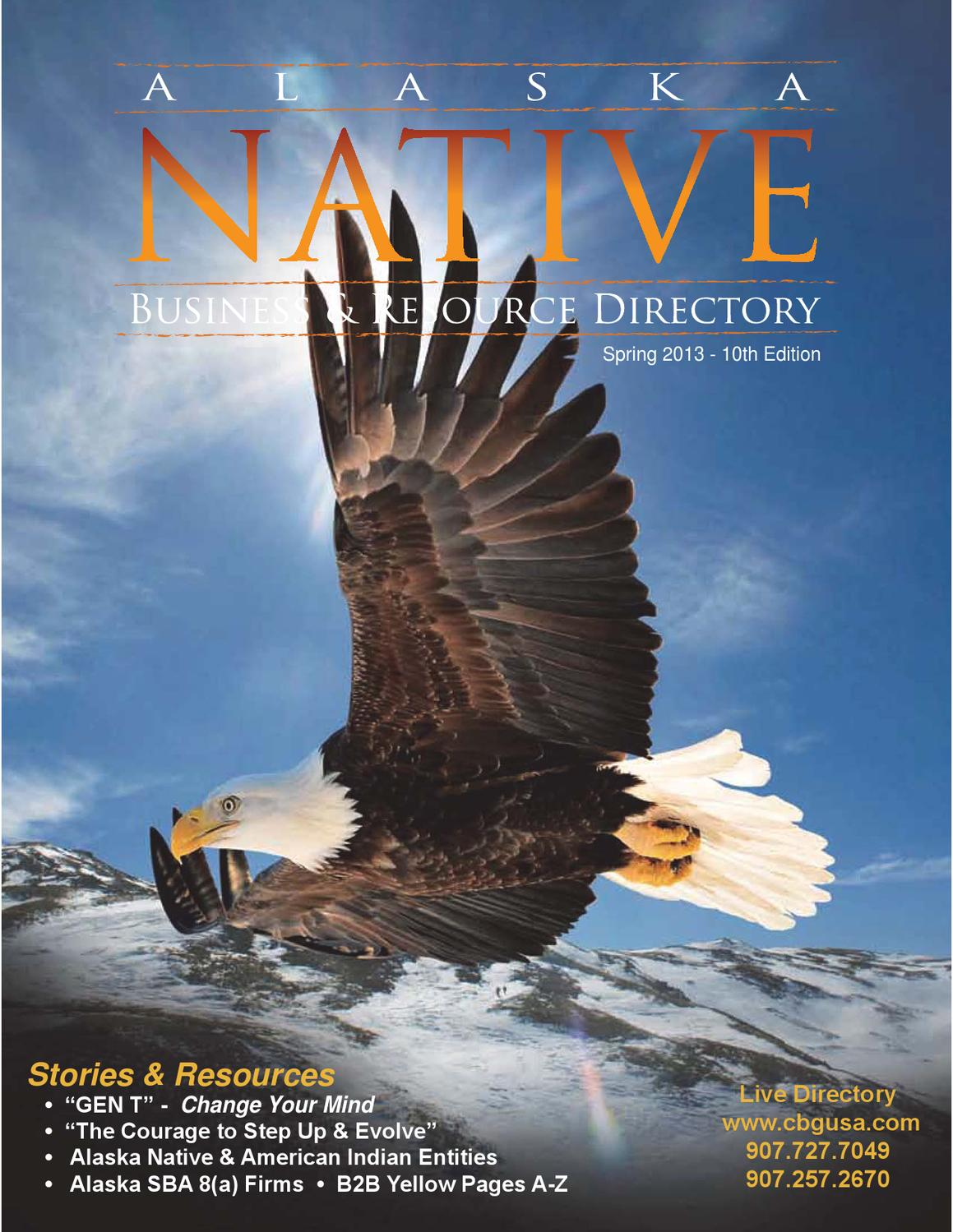 alaska native dir spring 2013 10th edition by it s perfect or it s