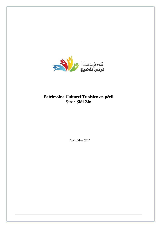 culture tunisienne de datation