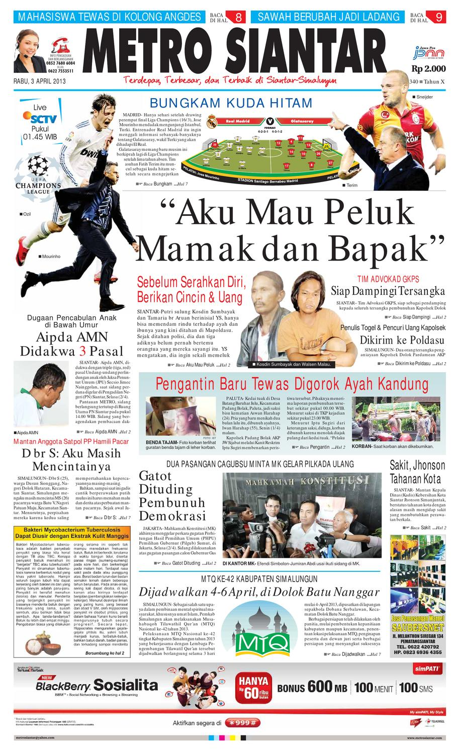 Epaper Metro Siantar Online By Issuu Produk Ukm Bumn Bakso Ikan Tuna Khas Ambon