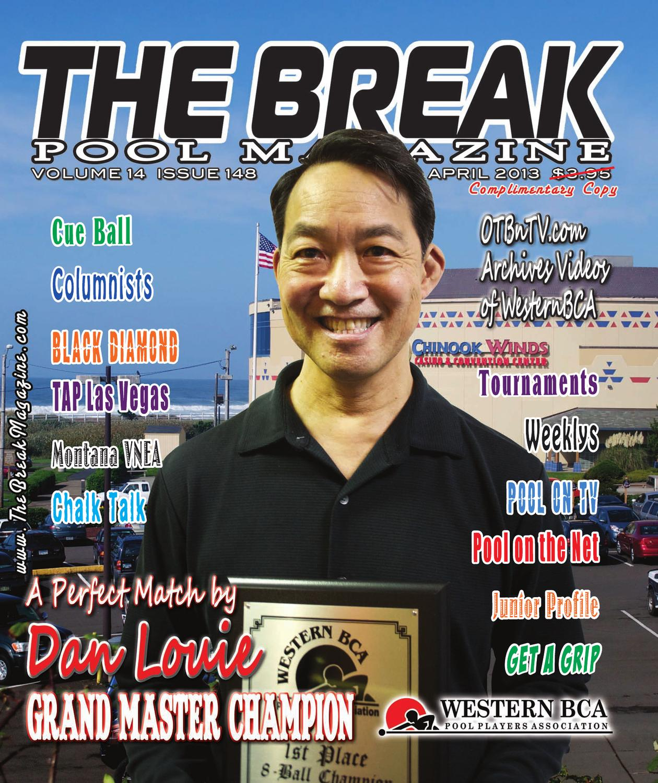 The Break Pool Magazine April Issue 2013 By Issuu League Legas Repair Black Red M