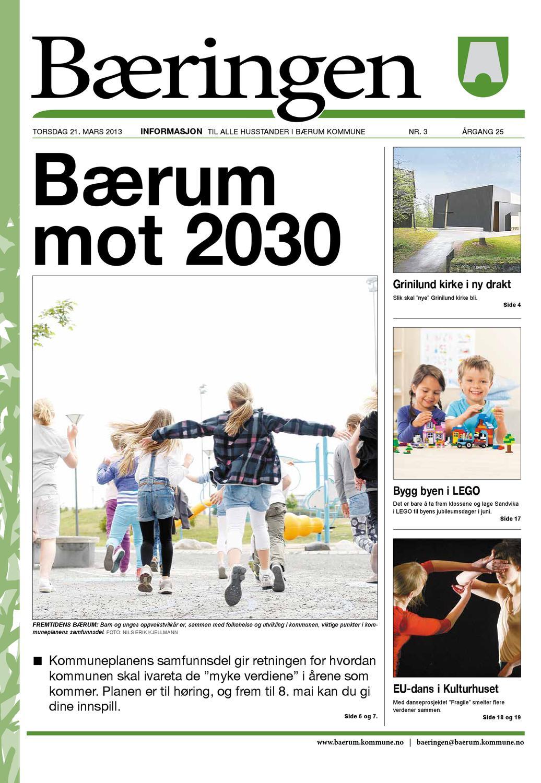 Baeringen 3 2013 By Baerum Kommune Issuu