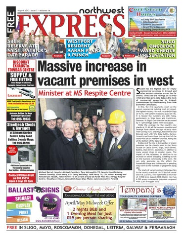 Northwest express 4th april 2013 by northwest express issuu page 1 malvernweather Image collections