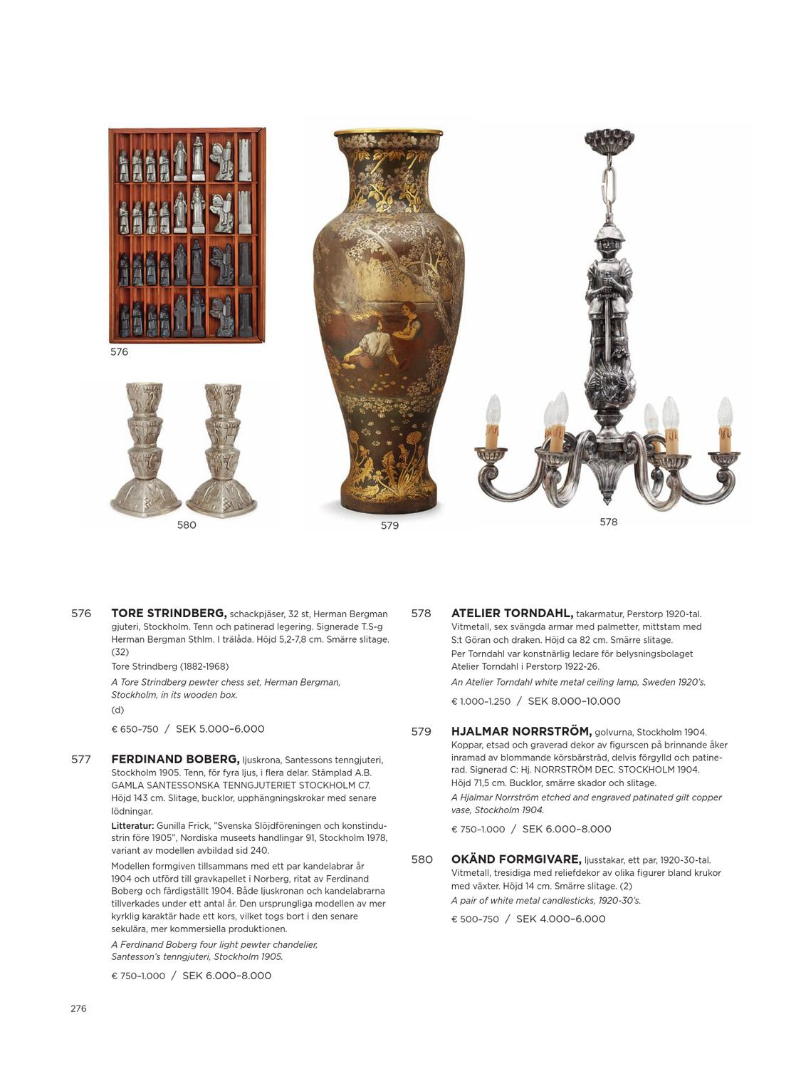 Eclectic auction at Bukowskis   David Report