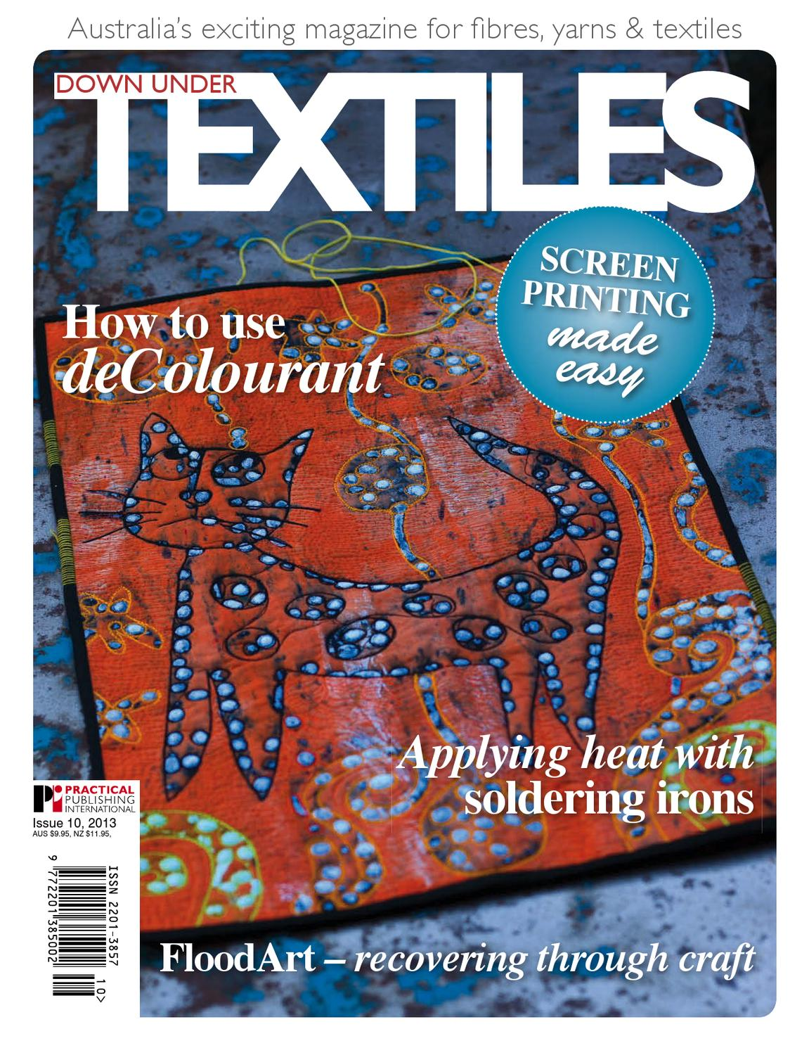 Down Under Textiles 10 by Practical Publishing - issuu