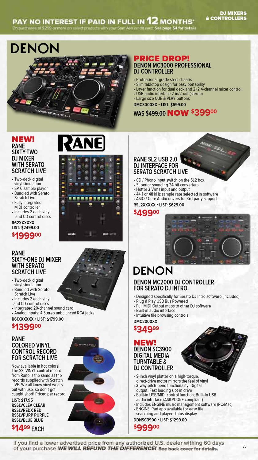 April 2013 GearGuide by Sam Ash Music Corp  - issuu