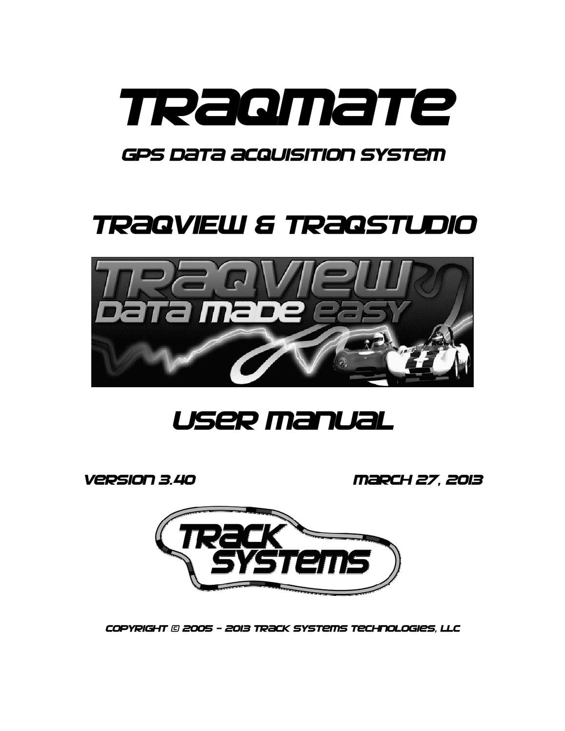 Traqmate Software User Manual by Andre Surles - issuu