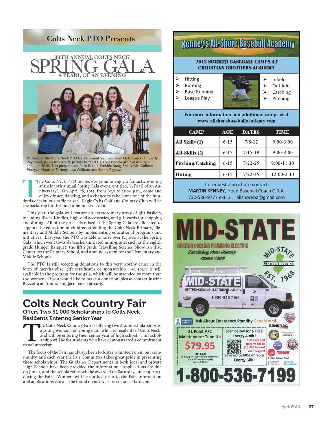 Colts Neck • Holmdel • Lincroft - April 2013 by Community Magazine ... 1ebd2f7d9