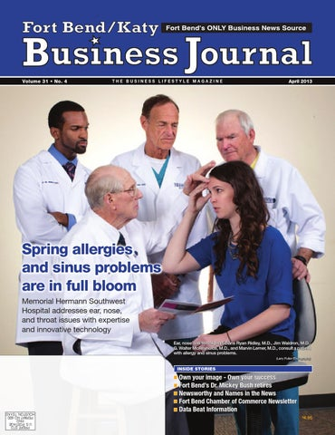 April 2013 - The Business Lifestyle Magazine Digital Edition by Fort