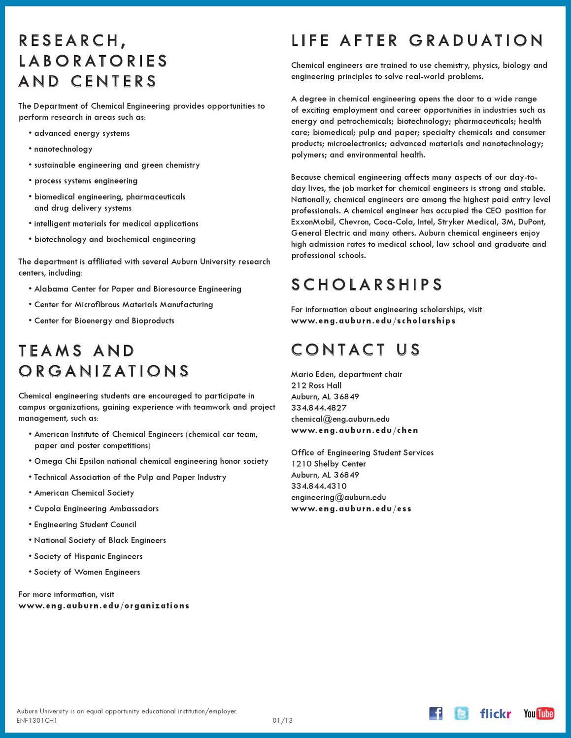 ChE by Auburn University College of Engineering - issuu