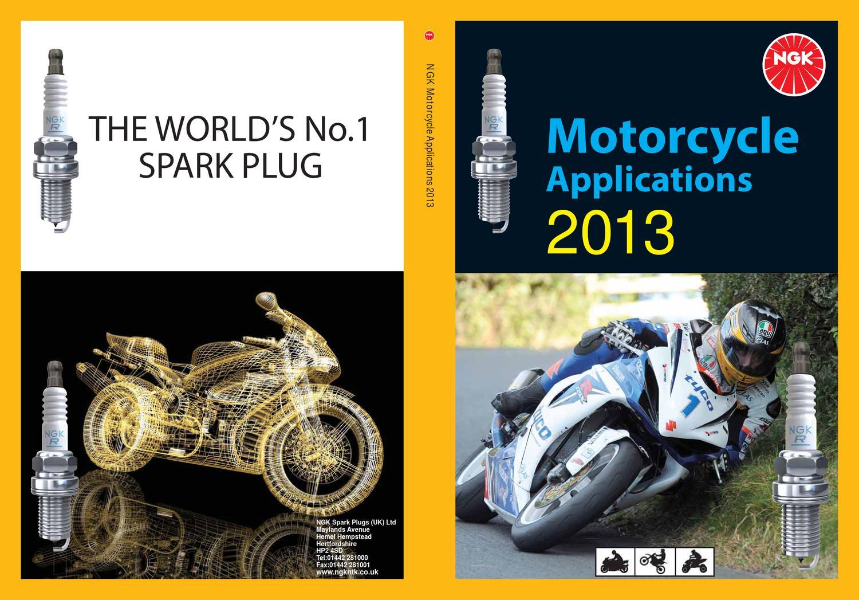 ngk motorcycle product line 2013 catalog by attila talpai issuu rh issuu com