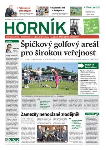 HORNÍK č. 13 ze dne 4. 4. 2013 by Noviny Hornik - issuu 2e7e89276f