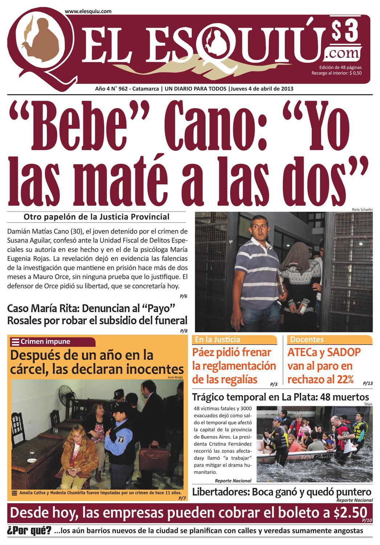 El Esquiu Com Jueves 4 De Abril De 2013 By Editorial El Esqui  # Muebles Digiano