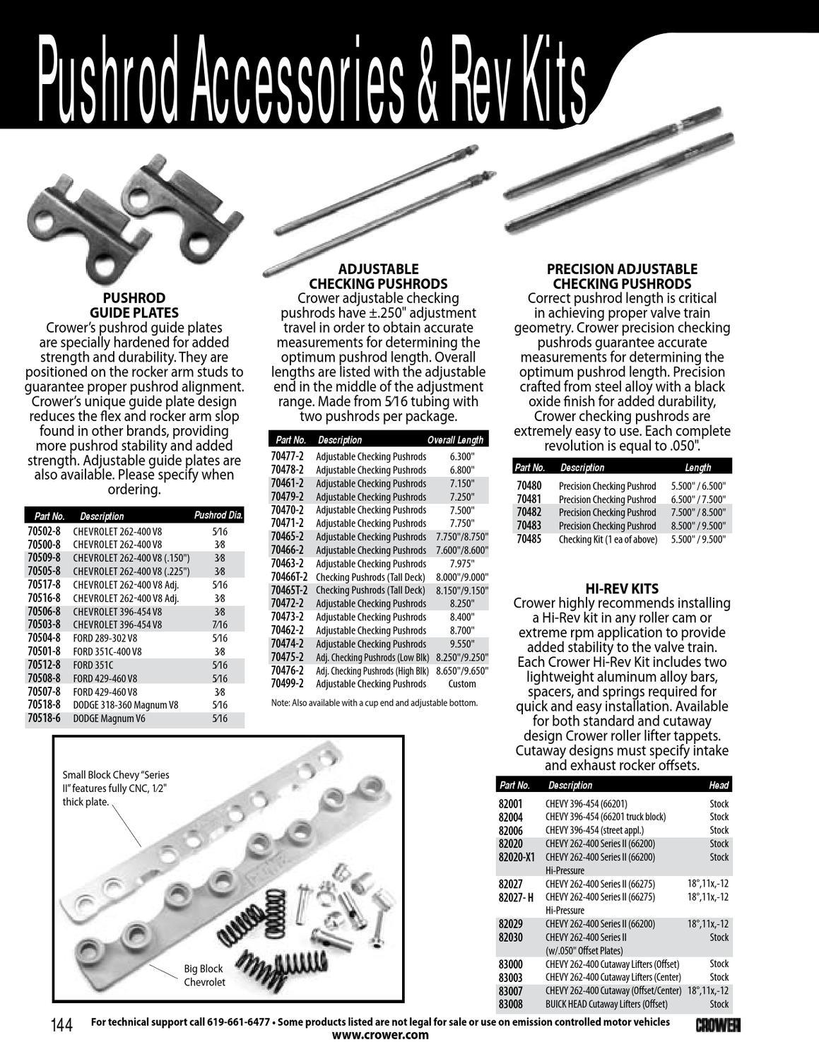 3//8 Diameter Pushrod Set Magnum 7.950 Long.080 Wall