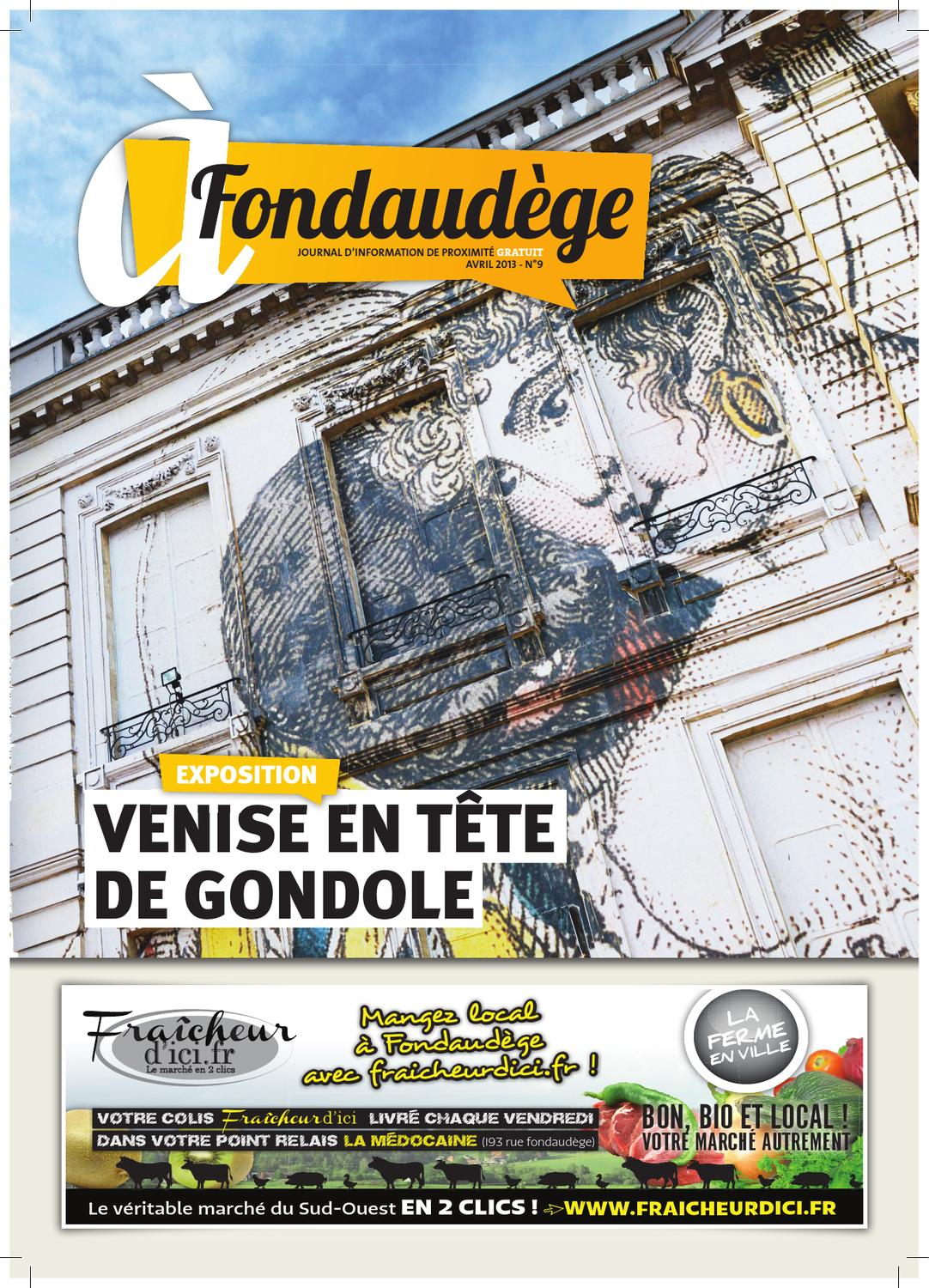 à Fondaudège Avril 2013 N9 By Page Publique Issuu