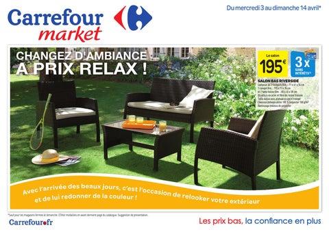 Catalogue Carrefour - 25.03-31.05.2014 by joe monroe - issuu