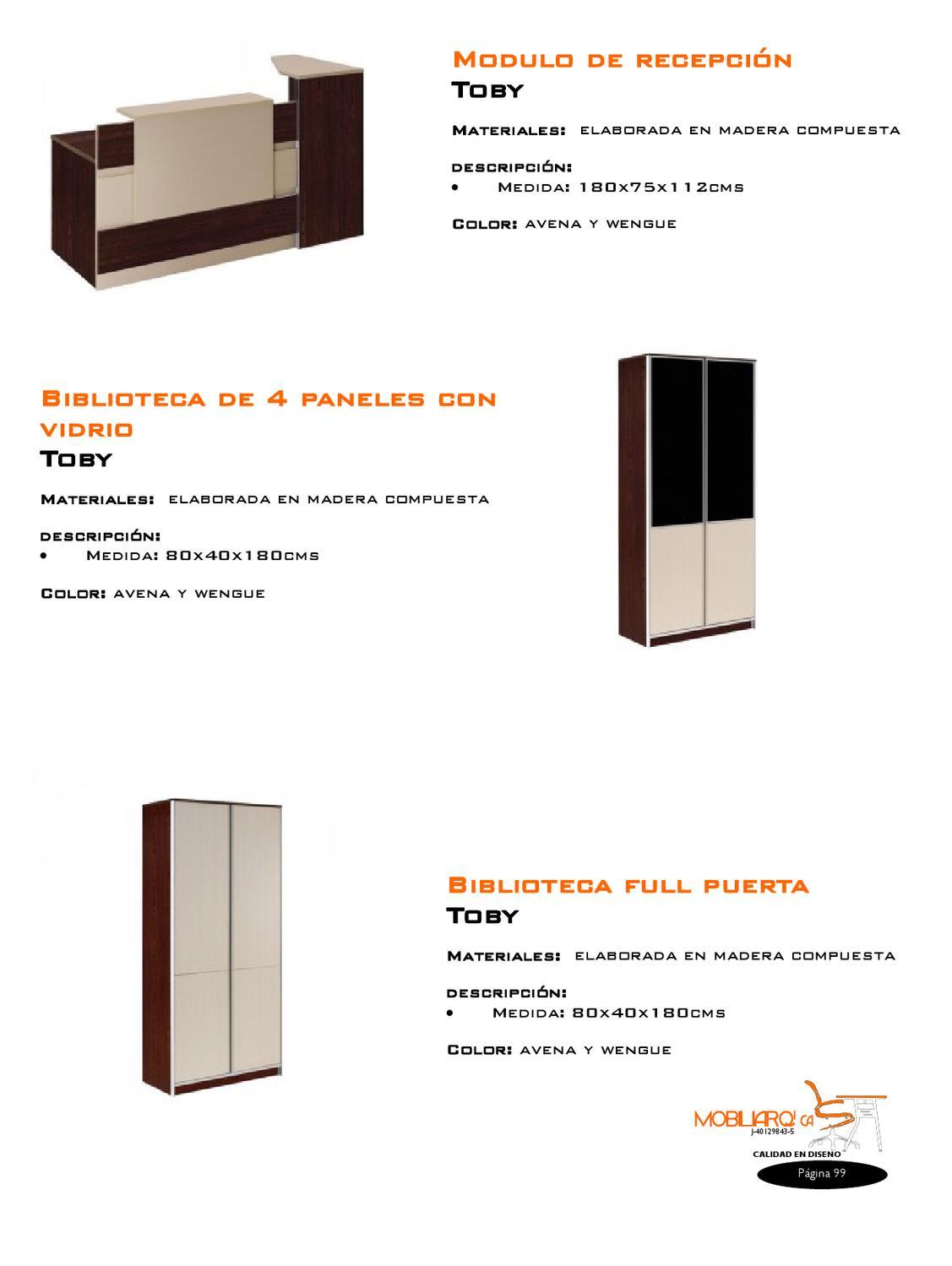 Mobiliarq Ca Catalogo By Mairyn J Pérez Issuu