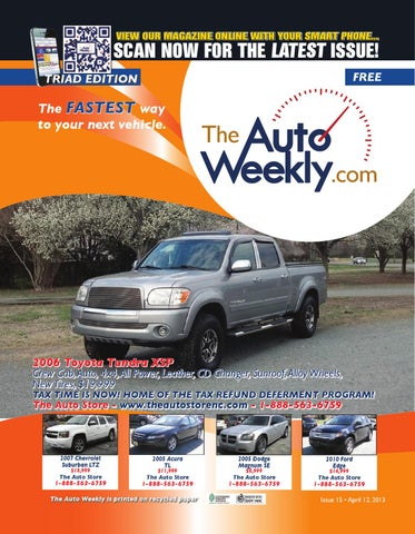 Issue 1315b Triad Edition The Auto Weekly by The Auto Weekly