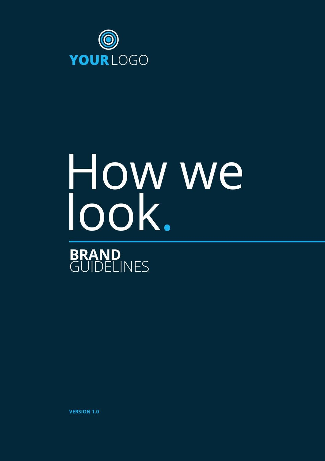 How We Look - Brand Guidelines Demo