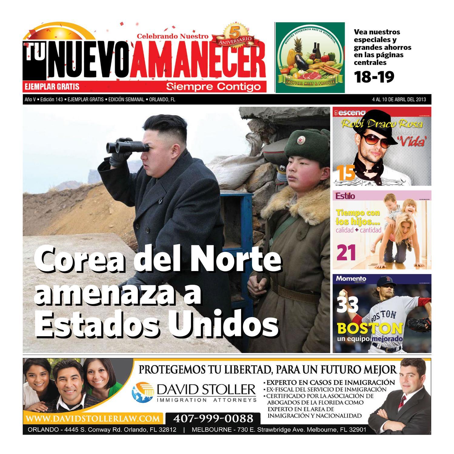 Edición #143 - Periódico Tu Nuevo Amanecer by Tu Nuevo Amanecer - issuu