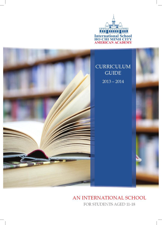 ISHCMC American Academy Curriculum Guide By ISHCMC Issuu